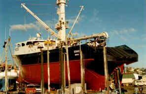 ship in ship yard